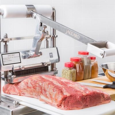 Frontside of Jaccard Model H Commercial Meat Tenderizerin the Kitchen